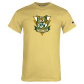 Champion Vegas Gold T Shirt-Primary Athletic Mark