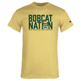 Champion Vegas Gold T Shirt-Bobcat Nation