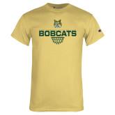 Champion Vegas Gold T Shirt-Basketball Sharp Net