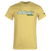 Champion Vegas Gold T Shirt-Baseball Script