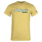 Champion Vegas Gold T Shirt-Baseball Script