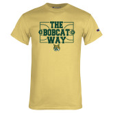 Champion Vegas Gold T Shirt-The Bobcat Way