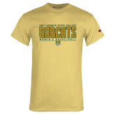 Champion Vegas Gold T Shirt-Womens Basketball Stacked