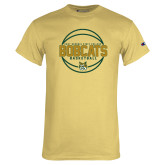 Champion Vegas Gold T Shirt-East Georgia Basketball In Ball