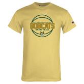 Champion Vegas Gold T Shirt-East Georgia Basketball In Ball