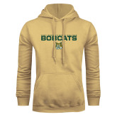 Champion Vegas Gold Fleece Hoodie-East Georgia State Bobcats Stacked