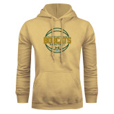 Champion Vegas Gold Fleece Hoodie-East Georgia Basketball In Ball