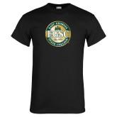 Black T Shirt-Shield
