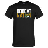 Black T Shirt-Bobcat Nation