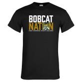 Black T Shirt-Bobcat Nation