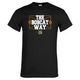 Black T Shirt-The Bobcat Way