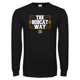 Black Long Sleeve T Shirt-The Bobcat Way
