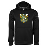 Under Armour Black Performance Sweats Team Hoodie-Primary Athletic Mark