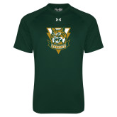 Under Armour Dark Green Tech Tee-Primary Athletic Mark