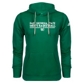 Adidas Climawarm Dark Green Team Issue Hoodie-East Georgia Mens Basketball