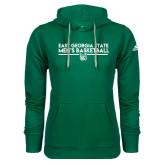 Adidas Climawarm Dark Green Team Issue Hoodie-East Georgia Mens Basketball