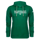 Adidas Climawarm Dark Green Team Issue Hoodie-East Georgia Womens Basketball