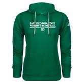Adidas Climawarm Dark Green Team Issue Hoodie-East Georgia Womens Basketball