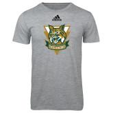 Adidas Sport Grey Logo T Shirt-Primary Athletic Mark