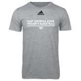 Adidas Sport Grey Logo T Shirt-East Georgia Womens Basketball