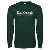 Dark Green Long Sleeve T Shirt-Primary Mark