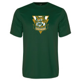 Performance Dark Green Tee-Primary Athletic Mark