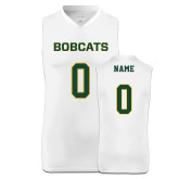 Replica White Adult Basketball Jersey-Personalized (Ladies)