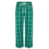 Green/White Flannel Pajama Pant-Primary Mark