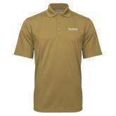 Vegas Gold Mini Stripe Polo-Primary Mark