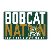 Medium Magnet-Bobcat Nation Decal, 8 inches wide