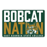 Large Magnet-Bobcat Nation Decal, 12 inches wide