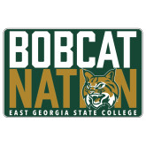 Extra Large Magnet-Bobcat Nation Decal, 18 inches wide