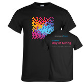 Black T Shirt-12th Annual Day of Giving - Front