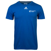 Adidas Climalite Royal Ultimate Performance Tee-EH Vertical