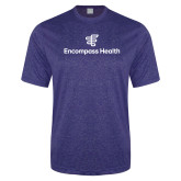 Performance Royal Heather Contender Tee-EH Stacked