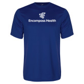 Performance Royal Tee-EH Stacked