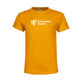 Youth Gold T Shirt-EH Vertical