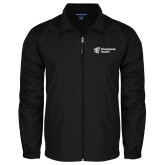 Full Zip Black Wind Jacket-EH Vertical