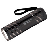 Astro Black Flashlight-EH Vertical  Engraved