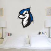3 ft x 4 ft Fan WallSkinz-Blue Jays Mascot