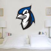4 ft x 5 ft Fan WallSkinz-Blue Jays Mascot