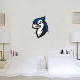 1.5 ft x 2 ft Fan WallSkinz-Blue Jays Mascot