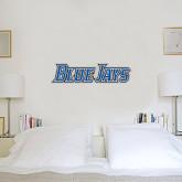 1 ft x 3 ft Fan WallSkinz-Blue Jays Wordmark