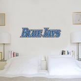 1.5 ft x 4 ft Fan WallSkinz-Blue Jays Wordmark