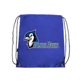 Royal Drawstring Backpack-Blue Jays