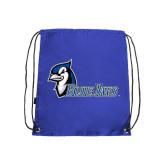 Royal Drawstring Backpack-Blue Jays