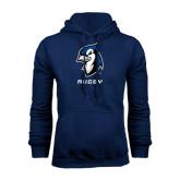 Navy Fleece Hoodie-Rugby