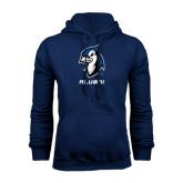 Navy Fleece Hood-Alumni