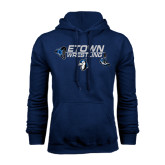 Navy Fleece Hoodie-Belt and Shoes Wrestling