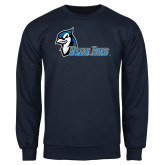 Navy Fleece Crew-Blue Jays